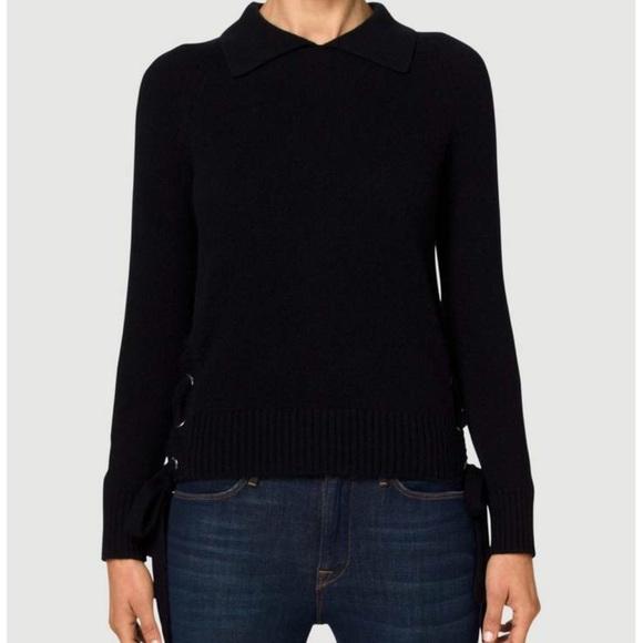 cff53c2cde618 Frame Denim Sweaters | Frame Side Tie Cashmere Sweater | Poshmark